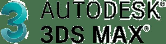 主要取扱ソフトウェア「AUTODESK 3DS MAX」のロゴ