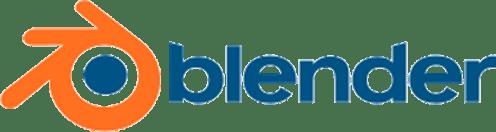 主要取扱ソフトウェア:「blender」のロゴ