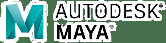 主要取扱ソフトウェア「AUTODESK MAYA」のロゴ