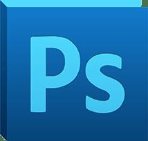 主要取扱ソフトウェア「Photoshop」のロゴ