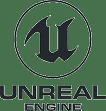 主要取扱ソフトウェア「UNREAL」のロゴ